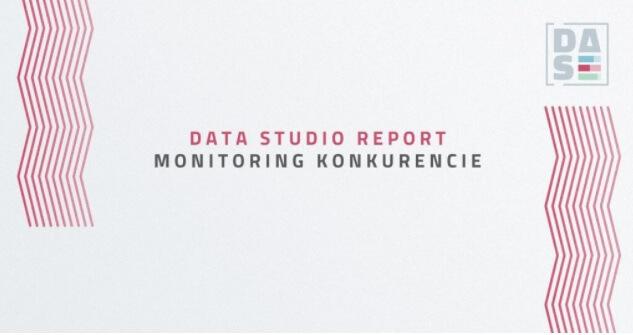 DATA STUDIO REPORT obrazok monitoring konkurencie