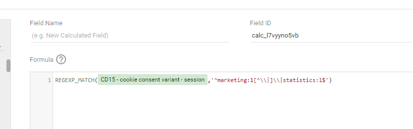 filter data studio