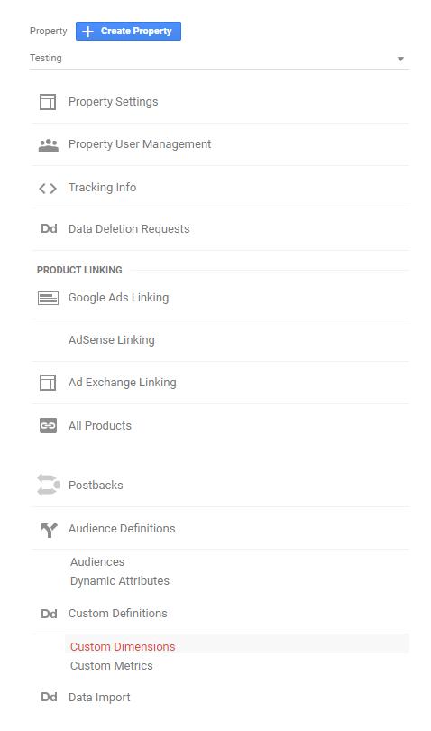 Pridanie vlastnej metriky v Google Analytics