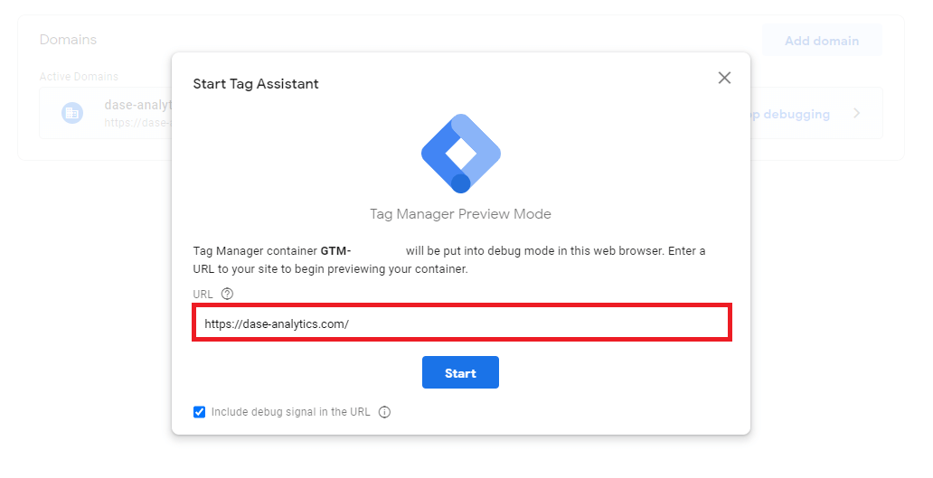 deboug mode, preview mode, new news google tag manager