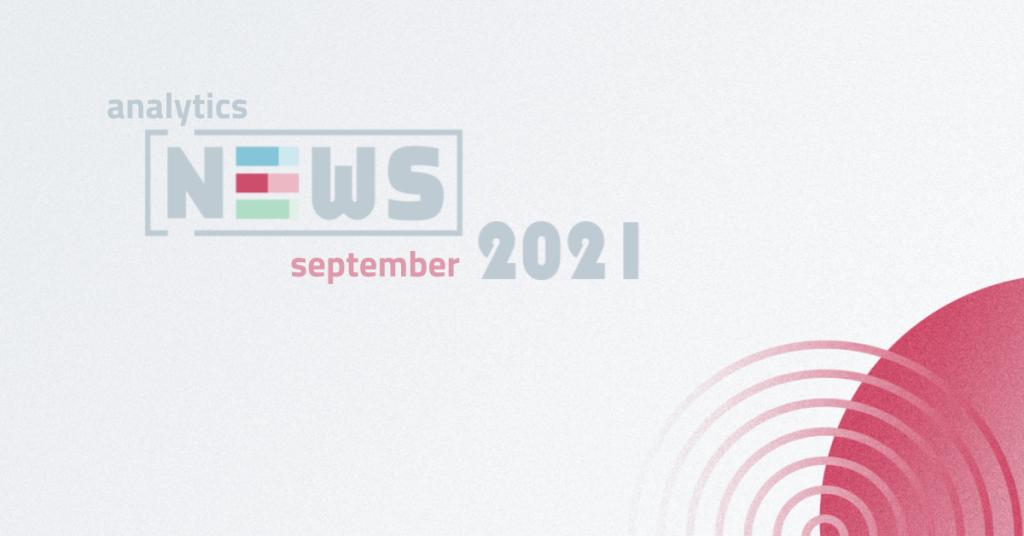 Septembrové NEWS pre webových analytikov