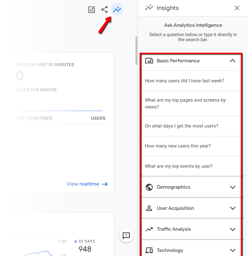 novinky: Google Analytics App Web otázky