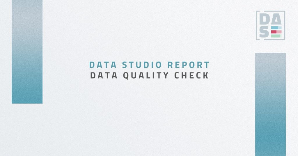 Report Data Quality Check